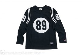 89 Long Sleeve Hockey Top by Hall of Fame