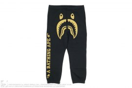 Bape Black 2 Shark Sweatpants by A Bathing Ape x Dover Street Market