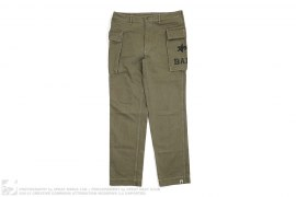 M-43 Herringbone Pants by A Bathing Ape