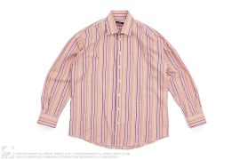 mens button-up Plaid Button-Up Long Sleeve by Burberry