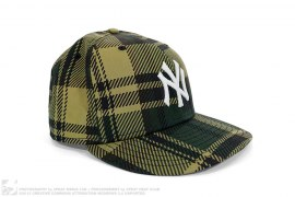 NY 1st Camo Plaid Fitted Cap by A Bathing Ape x New Era x New York Yankees