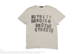 Royalty And The Streets Tee by Ksubi