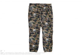 Futura 1st Camo Mesh Lined Nylon Pants by A Bathing Ape x Futura