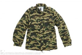 1st Camo Sweat M65 Jacket by A Bathing Ape