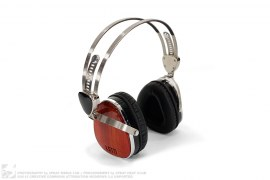 Cherry Wood Troubadour Headphones by LSTN