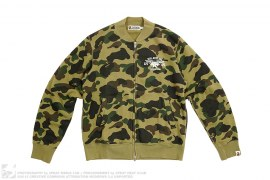 1st Camo Sweat MA1 Jacket by A Bathing Ape