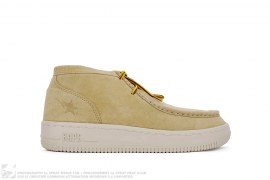 Manhunt Sta Suede Leather Sneakers by A Bathing Ape