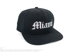 Miami Old English Snapback by ESV