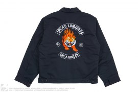 mens jacket Heatclub Mechanics Jacket by 3peat x Lumieres
