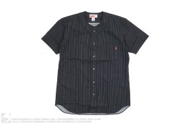Striped Pocket Baseball Jersey by Supreme x Comme des Garcons