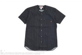 Striped Pocket Baseball Jersey by Supreme x Comme des Garcons