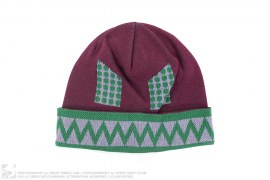 Zig Zag Mad Robot Beanie by BBC/Ice Cream