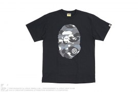 City Camo Coming & Going Straight Through Apehead Tee by A Bathing Ape