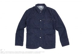 Galaxy Speckle Denim Shirt Jacket by BBC/Ice Cream