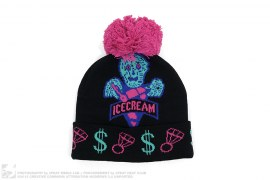 Zombie Dip Beanie by BBC/Ice Cream