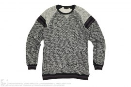 Fleece Wool Crewneck by Black Scale