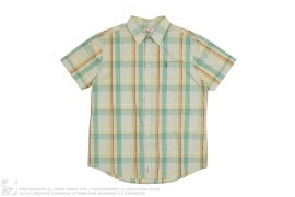 Plaid Short Sleeve Shirt by Penguin