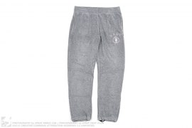 Collegate Emblem Terrycloth Sweatpants by A Bathing Ape