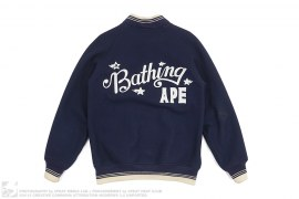 Sta Wool Varsity by A Bathing Ape