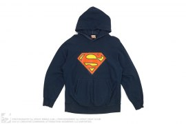 Superman Pullover Hoodie by A Bathing Ape x DC Comics