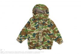 Puzzle Camo Snowboard Jacket by A Bathing Ape