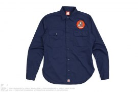 Applique Work Shirt by A Bathing Ape x Coca-Cola