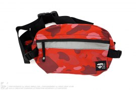 Color Camo Waist Bag by A Bathing Ape