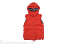Hooded Down Vest by visvim