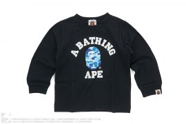 ABC Camo College Logo Long Sleeve Tee by A Bathing Ape