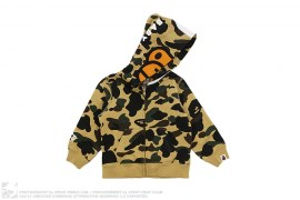 1st Camo Milo Kitty Split Face Full Zip Hoodie by A Bathing Ape x Sanrio