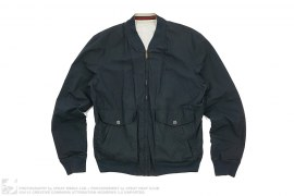 mens jacket Cotton Reversible Bomber Jacket by Gucci
