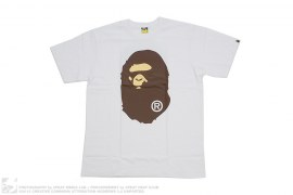 Classic Coming & Going Straight Through Apehead Tee by A Bathing Ape