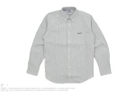 Jetsetter Thin Stripe Button-Up Shirt by BBC/Ice Cream