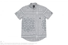 Paisley Button-Up Shirt by Young & Reckless