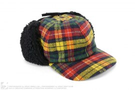 Plaid Flannel Boa Ear Flap Cap by BBC/Ice Cream