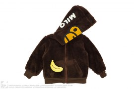 Milo Boa Full Zip Hoodie by A Bathing Ape