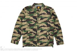 Camo Coaches Jacket by Undefeated