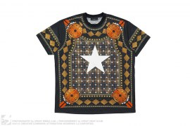 mens tee Star Print Tee by Givenchy