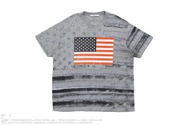 mens tee USA Flag Tee by Givenchy