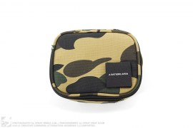 1st Camo Travel Case Pouch by A Bathing Ape