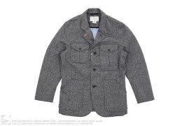 Gore-tex Tweed Field Jacket by Nanamica