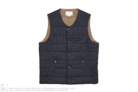 Permaloft Wool Cycling Vest by Nanamica