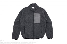 Wool Stand Collar Zip Front Jacket by ts(s)