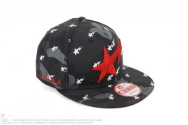 Blvck Color Camo Sta Snapback by A Bathing Ape x Black Scale