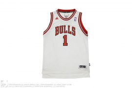 Chicago Bulls Derrick Rose Swingman Home Jersey by adidas