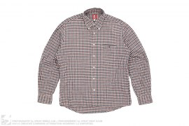 Tiny Apehead Checkered Flanel Button Up Shirt by A Bathing Ape