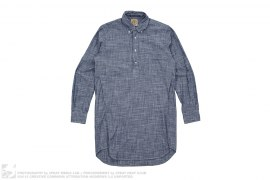 Extended Length Chambray Pullover Button Down Shirt by BBC/Ice Cream