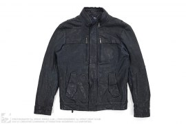 Lamb Skin Biker Jacket by Sieg Fahrenheit