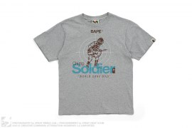 Chimp Soldier Tee by A Bathing Ape