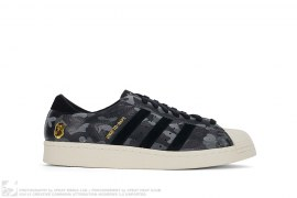 Camo Consortium Superstar 80v by adidas x A Bathing Ape x Undefeated